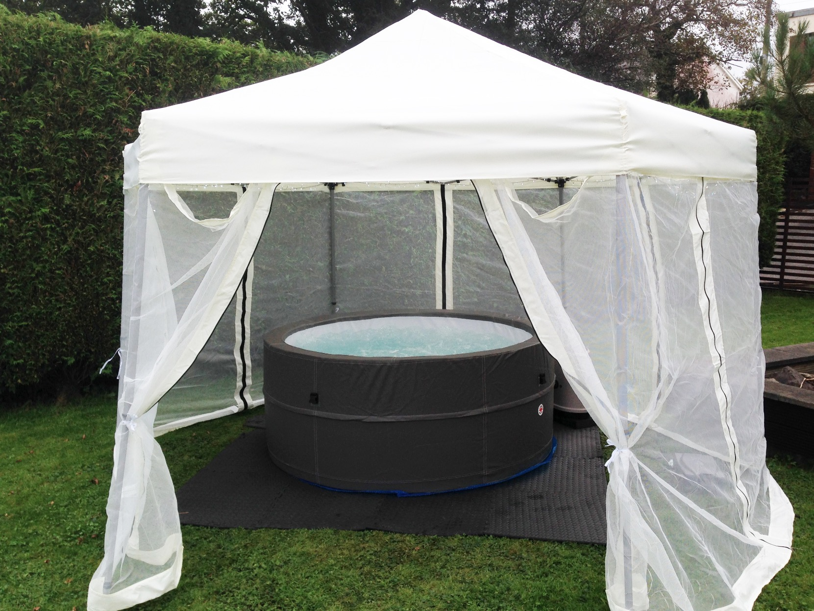 enquire pools to gazebos here about tubs gazebo home chalets counties click false hot tub